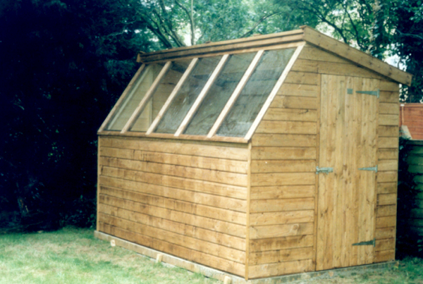 6 x 10 Potting Shed. J C  Schaay Timber Buildings